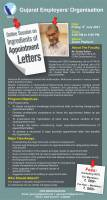 Online Session On Ingredients Of Appointment Letters