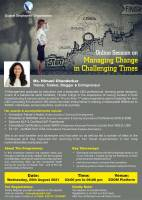 Online Session On Managing Change In Challenging Times