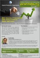 Online Session On Improving PROFITABILITY Through IT
